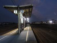 向夏暮色~能町駅 - タビノイロドリ