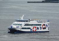 夏至!、、、観光船「boh boh Kobe」デビュー直前 at 神戸港 - みなと神戸 のんびり風物詩