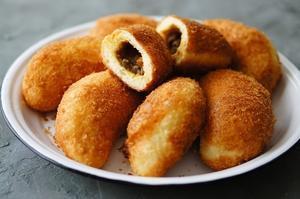 本日のオーダーはカレーパンです! - 大阪 北摂 茨木 南茨木 パン教室choco cafe* 初心者歓迎 手ごねパン作り