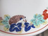 ハリネズミの小皿 - あるまじろの庭