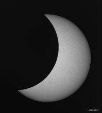 6月21日の太陽部分日食 - お手軽天体写真