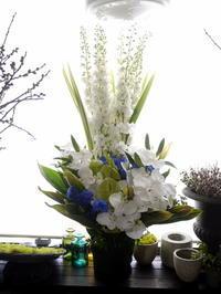 お供えのアレンジメント。栄通21-12・・・にお届け。2020/06/20。 - 札幌 花屋 meLL flowers