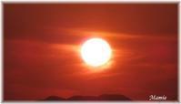 夏至の次の日の日没 - おだやかに たのしく Que Sera Sera