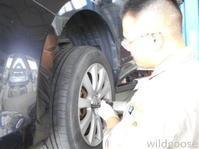 LY3PMPV車検整備中(*¨) - ★豊田市の車屋さん★ワイルドグース日記
