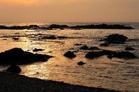 日本海の夕陽② - Photo Of 北海道大陸