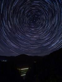 2020.6.20只見線の光跡と星空 - ダイヤモンド△△追っかけ記録
