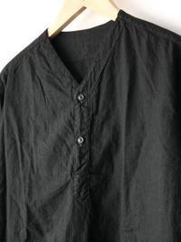 ロシア軍 スリーピングシャツ BLACK後染め - 【Tapir Diary】神戸のセレクトショップ『タピア』のブログです