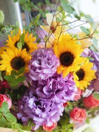 父の日 ひまわりの花束 - ブランシュのはなたち
