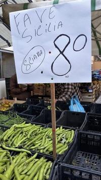 騙されないぞ~パレルモ市場の戦い - シチリア島の旅ノート