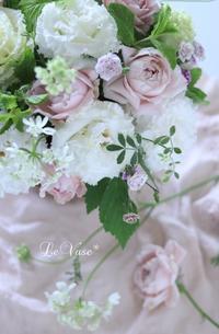 6月Basic『ラウンドアレンジ』 - Le vase*  diary 横浜元町の花教室