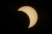 部分日食 - ライカとボクと、時々、ニコン。