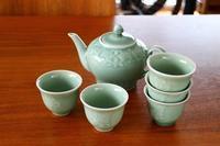 祖母の茶器セット - 満足満腹 お茶とごはん2