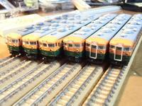 KATO 165系旧製品先頭車の種別幕を弄る - 新湘南電鐵 横濱工廠3