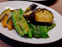 めんつゆで!揚げ野菜のおろし玉ねぎあえ - うひひなまいにち