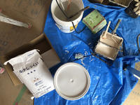 須坂の曲り家の内装の仕上工事が進行中です - 安曇野建築日誌