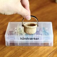 ミニチュアバスケット製作に欠かせないもの - handvaerker ~365 days of Nantucket Basket~