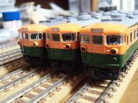 KATO 165系旧製品先頭車の種別幕を弄る2 - 新湘南電鐵 横濱工廠3