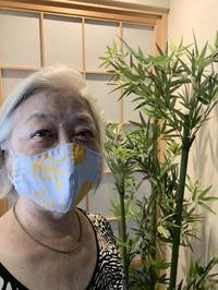東屋手ぬぐいマスク - 平成25年に創業100年を迎えた革小物製品専門店東屋あととり娘の徒然日記