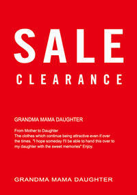 【伊勢丹浦和店】2020 AUTUMN&WINTER SALE START!! - GRANDMA MAMA DAUGHTER OFFICIAL BLOG