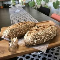 天然酵母ルヴァンリキッドで『ミューズリーブロート』 - カフェ気分なパン教室  *・゜゚・*ローズのマリ