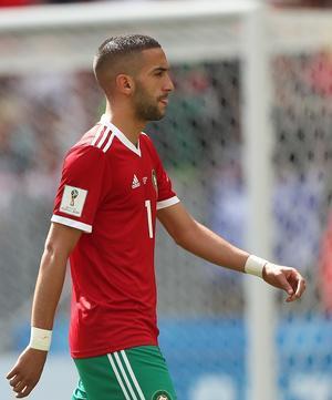 線の細い選手「Hakim Ziyech」 - いまだサッカー熱をこじらせています。