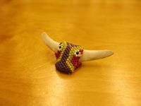"""Navajo 1980s vintage beaded buffalo scarf holder""ってこんなこと。 - THE THREE ROBBERS ってこんなこと。"