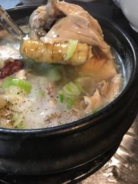 アリランさんで参鶏湯 - 桃的美しき日々 [在中国無錫]
