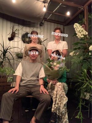結婚記念日と家族写真 - ケセラセラ~家とGREEN。