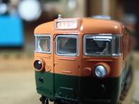 KATO 165系旧製品先頭車の種別幕を弄る3 - 新湘南電鐵 横濱工廠3