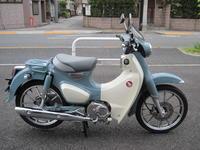 スーパーカブC125中古車 - バイクの横輪