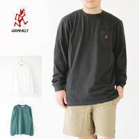 GRAMICCI [グラミチ] ONE POINT L/S TEE [GUT-20F056] ワンポイント長袖Tシャツ・・ MEN'S - refalt blog