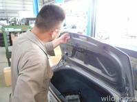 NCECロードスター納車整備中(*^^)v - ★豊田市の車屋さん★ワイルドグース日記