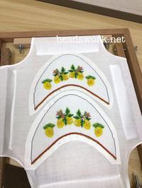 プラナカンビーズ刺繍生徒様の作品 - プラナカンビーズ刺繍  ビーズワークと旅