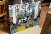 生徒さんのパネル2枚完成 - ステンドグラスルーチェの日常