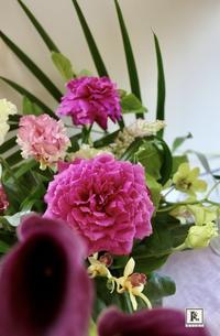 「お花のこよみ教室」中高生  本年度が始まりました - Bouquets_ryoko