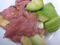 今日の朝食_ローストビーフとアボカドとトースト、スロヴェニアの塩 - Hanakenhana's Blog