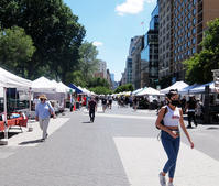 フェーズ2のNY、ユニオン・スクエアの青空市場へ! - ニューヨークの遊び方