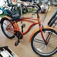 ビーチクルーザーのシングルを3段変速に - 滝川自転車店