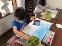 稲沢教室、絵を描いて成長したい子を募集しています。 - 大﨑造形絵画教室のブログ