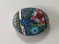 稲沢教室、色の石が完成しました。その1。 - 大﨑造形絵画教室のブログ
