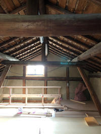 民家改修桜井の家納屋工事 - 国産材・県産材でつくる木の住まいの設計 FRONTdesign