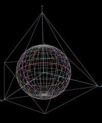基本編(18)正八面体と球面 - 齊藤数学教室のお弟子さんを取ります。年令実力は問わず。