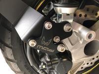 ADV150 スプラッシュガードの改造 - アラフィフ(初心者)ライダー