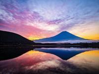 2020.6.27梅雨の晴れ間の朝の富士山(田貫湖他) - ダイヤモンド△△追っかけ記録