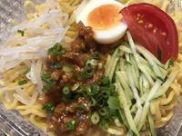 【旨辛冷やし担々麺とチヂミ】ローソン - お散歩アルバム・・新しい生活様式