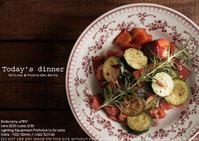 テーブルフォトに赤い皿は難しい#ツァイス写真部 #料理写真 #ストロボ写真 #Profoto - さいとうおりのお気に入りはカメラで。