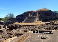 コンクリートで固められたタスマル遺跡@エルサルバドル - FK's Blog