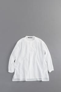 GRANDMA MAMA DAUGHTER Gather Shirts (White) - un.regard.moderne