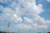 青空にもくもく(積雲) - いま、そこにある雲