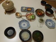 おかゆで晩御飯 - のび丸亭の「奥様ごはんですよ」日本ワインと日々の料理